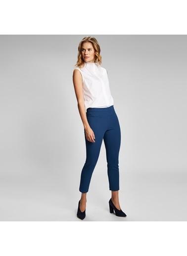 Vekem-Limited Edition Kolsuz Gömlek Beyaz